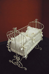 Country French Rectangular Cradle without Arm